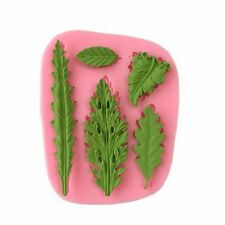Yunko Tree Sugarcraft Silicone Mold Fondant Clay Mould Leaf Shape 3d Chocolate D