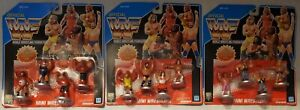Vintage 1991 WWF Hasbro Royal Rumble Figures Moc Lot Of All 3 Sets Nice Cards