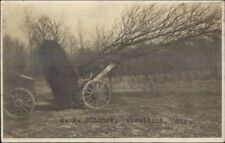 Massillon OH HE Sinnock c1910 RPPC Pulling Tree From Ground by Chain