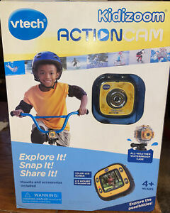 Vtech Kidizoom Action Cam Yellow -NEW-SEALED