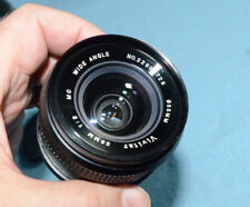 Vivitar 28mm f2 Lens - Fast - Prime - Wide-Angle - fits Minolta MD - Excellent!