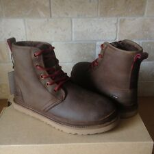 UGG Harkley Grizzly Watetproof Leather Chukka Boots Shoes Size US 13 Mens New