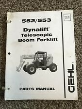 Gehl 552 553 Dynalift Telescopic Boom Forklift Parts Catalog Manual