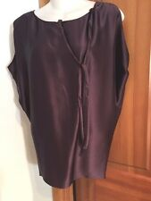 VERA WANG Couture VIOLET QUINCEY BLOUSE, SIZE 4 NEW WITH TAGS! 100% SILK