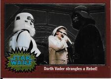1999 Topps Star Wars Chrome Archives #1 Darth Vader Strangles A Rebel!