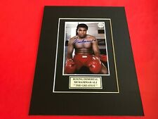 Muhammad Ali Signed 4x5 Photo with Certificate of Authenticity-COA