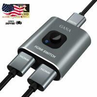Cirago 4K HDMI 2.0 Bi-Directional 2x1 Switch BHDMSWITCH2X1W4K