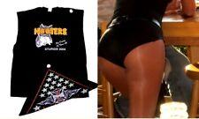 XXL Hooters Uniform Sturgis Sleeveless T-Shirt Biker Shorts Bandanna