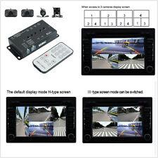 360° Full Views Car Parking Video Recording DVR Split Image Screen & 4 HD Camera