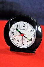 """Emes""  Vintage Circa1969's Electric/Battery Super Thin German Mini Alarm clock"