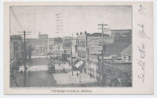 Rare 1906 Tremont Avenue Bronx New York City Nyc + trolley Post Card Pc