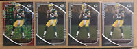 (4) 2020 JORDAN LOVE ABSOLUTE ROOKIE LOT WITH RED /199 RC PACKERS