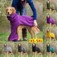 Fashion Winter Dog Warm Blanket Vest Puppy Pet Coat Hoodies Jacket Fleece Dogs