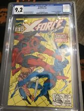 X-Force #11 CGC 9.2 1st Appearance Domino Deadpool White Pages