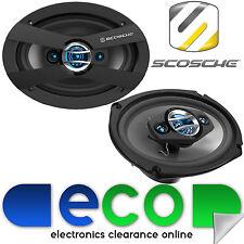 ***SPECIAL OFFER*** 600 Watts SCOSCHE HD 6903A 4 Way 6x9 inch Car Van Speakers
