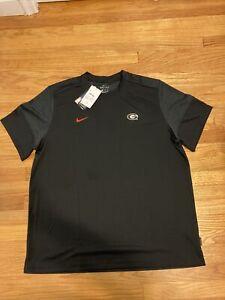 NWT Georgia Bulldogs Nike Men's Team Issued Warm Up T-Shirt Size 2XL RARE UPF40+