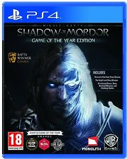 Mittelerde Mordors Schatten GOTY Game of the Year PS4 Playstation 4 - NEU OVP