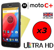 3x Hq Ultra Clear Hd Screen Protector Cover Guards For Motorola Moto C Plus C+
