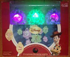 Disney Toy Story Christmas Blinking String Lights Set New
