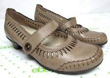 Remonte Dorndorf By Reiner 37/ 7 Leather Shoes Mary Jane tan beige light brown