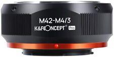 K&F Concept Matting Varnish Design M42 Lens to MFT Camera Lens Mount Adapter