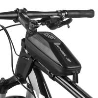 Wheelup Waterproof Bicycle EVA Bags MTB Bike Front Beam Pack Tube Pouch Holder