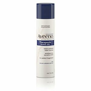 Aveeno Therapeutic Shave Gel, 7 oz (3 Pack)