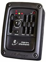LR Baggs StagePro Element Onboard Guitar Preamp/EQ with Undersaddle Pickup NEW!