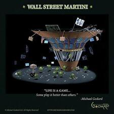 MARTINI ART PRINT Custom Martini Michael Godard 12x12 Image Conscious