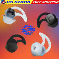 Silicone Ear Tips 3 Pairs Ear Buds BOSE Soundsport Wireless QC30 QC20 Headphones