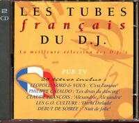 LES TUBES FRANCAIS DU D.J. -  TITRES RARES ANNEES 80 - 2 CD COMPILATION [1480]