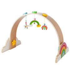 """howa Spielbogen Baby Gym Spieltrapez aus Holz """"my rainbow"""" 6011"""