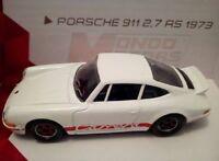 Porsche 911 2,7 RS 1973 Carrera * blanche Métal Ech.1/43 * Mondo Motors Vintage