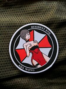 Resident Evil 2 Biohazard 2, Ada Wong Airsoft Anime Morale Cosplay Army Patch