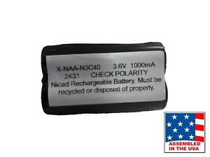 Schlumberger 11992-00 Battery 1199200 Battery Pack Replacement for Exit Sign Em