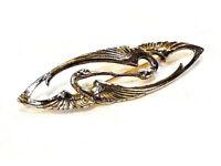 Bijou alliage doré broche oiseaux brooch idéal pour cadeau