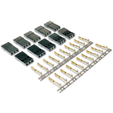 10 Stück Female Servo Stecker JST-SH JR Graupner kompatibel Vergoldet Crimp Pins