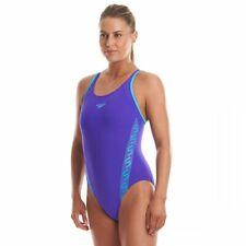 Speedo Badeanzug Damen Brustunterstützung verstellbare Träger schnelltrocknend