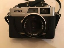Canon Canonet 28 35 mm Rangefinder Camera 40 mm Lens 2.8