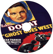 The Ghost Goes West - Comedy, Fantasy, Horror - Robert Donat - 1935