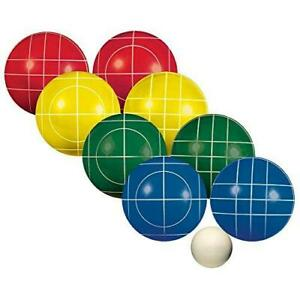 Franklin Sports Bocce Sets - Regulation Bocce Balls and Pallino - Beach and Lawn