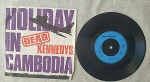 Dead Kennedys – Holiday In Cambodia 7'' FRANCE 1980 Cherry Red – 13 EX