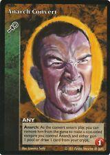 Anarch Convert x1 Caitiff Black Chantry Reprint Promo VTES Jyhad
