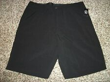 VOLCOM New NWT Mens Casual Chino Frickin Board Surf Turf Stretch Shorts Black