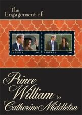 Liberia 2011  Engagement Prince William And Kate Middleton - Souvenir Sheet of 2