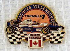 New listing Vintage Jacques Villeneuve Formula 1 Enameled Pin