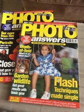 TWO 'PHOTO ANSWERS' MAGAZINES FROM FEBRUARY AND MARCH 1997