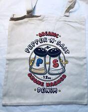 Paul Smith Men Cotton Tote Bag RRP£20 Pepper N Salt