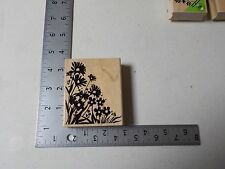 HERO ARTS #H5011 SILHOUETTE CORNER WOOD MOUNT RUBBER STAMP NEW A1494