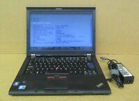 "Lenovo ThinkPad T410 14.1"" HD i5-520M 2.4Ghz 6GB DDR3 320GB HDD Win10 Pro Laptop"